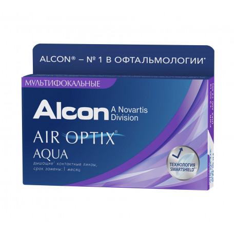 Air Optix Aqua Multifocal, 3 линзы