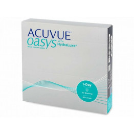 ACUVUE OASYS 1-Day with HydraLuxe™, 90 линз