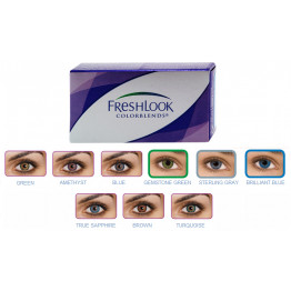 FreshLook ColorBlends, 2 линзы